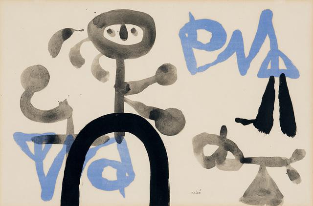 , 'Sans titre,' 1950, Galerie Lelong & Co.