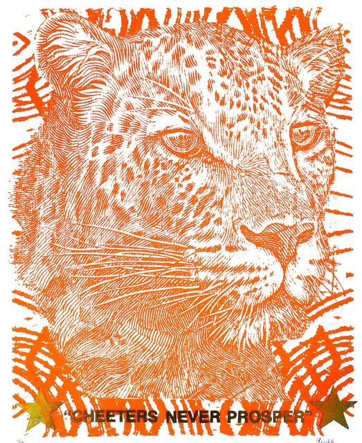 , 'Orange Leopard,' 2016, Aureus Contemporary