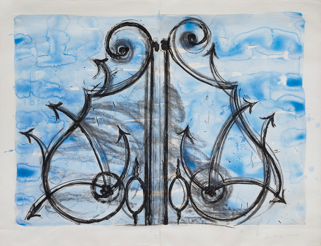 Jim Dine, 'Blue Detail from the Crommelynck Gate', 1982, Phillips