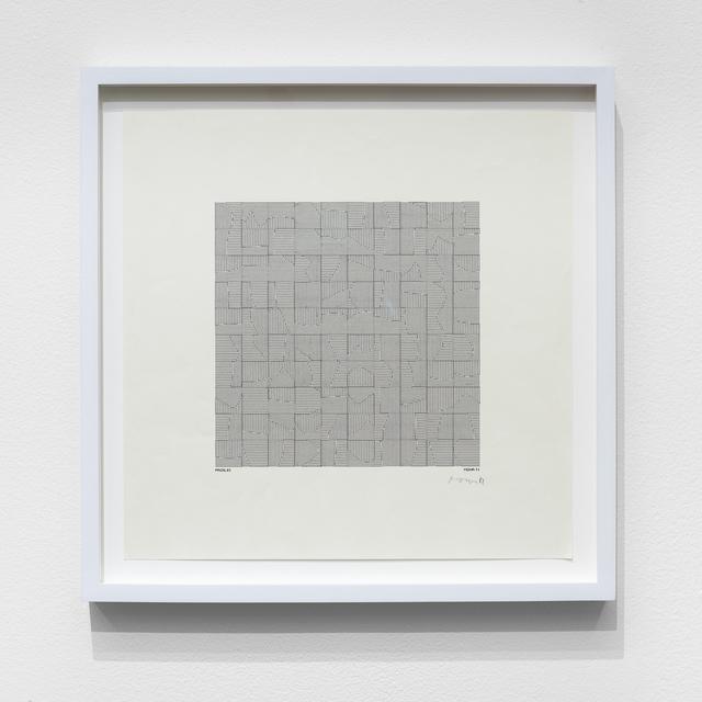, 'P-082-A,' 1971, bitforms gallery