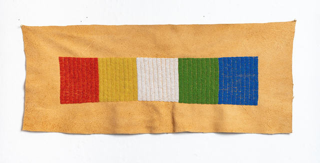 , 'Red Yellow White Green Blue,' 2019, inde/jacobs