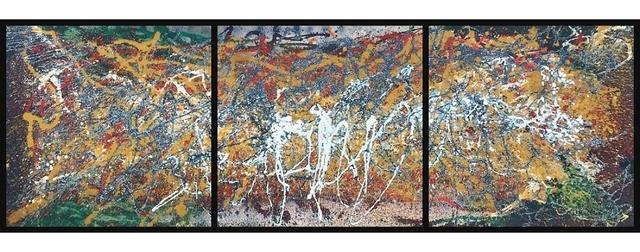 , 'ALP 058 (triptych),' ca. 1970, Lawrence Fine Art