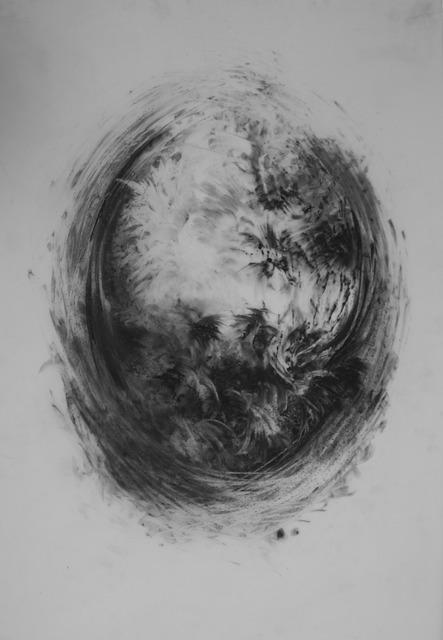 , 'the ashen gray of larks (framed),' 2017, Studio 21 Fine Art