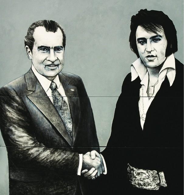, 'Richard and Elvis,' 2012, Canale Diaz Art Center