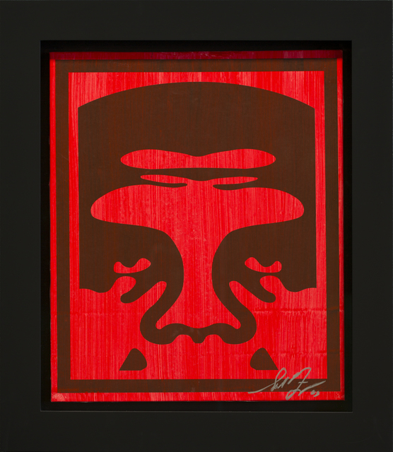 Shepard Fairey (OBEY), 'André the Giant (red)', 2007, Rudolf Budja Gallery