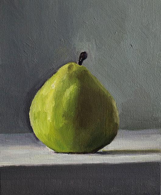 Dan McCleary, 'Pear', 7.27.18, Painting, Oil on canvas, Craig Krull Gallery
