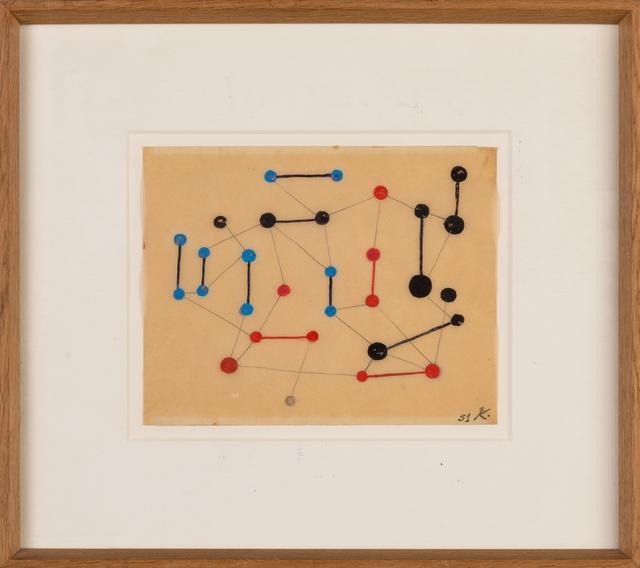 , 'Sans titre,' 1951, Galerie Dutko