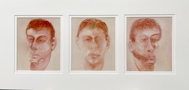 Francis Bacon, 'Three studies for a portrait of John Edwards', 1980, Van der Vorst- Art
