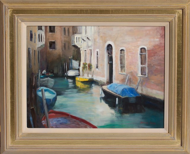 Jacqueline Fowler, ''Quietly Moored' ', 2014, Wentworth Galleries
