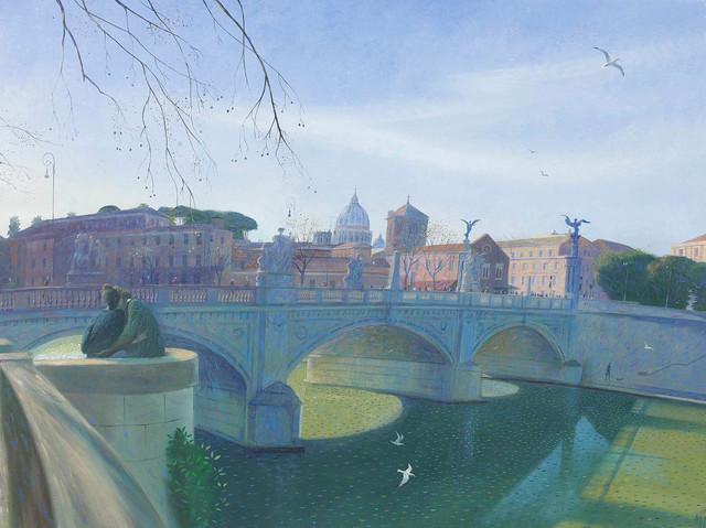 , 'Springtime in Rome,' 2017, Portland Gallery