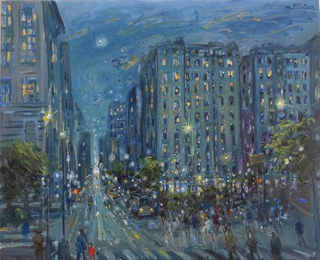 , 'Verdi Square, 73rd Street Looking East, Manhattan,' 2017, Galerie d'Orsay