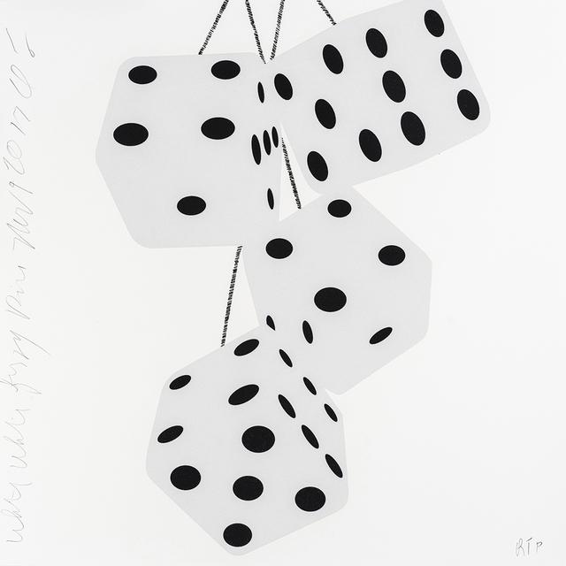 , 'Fuzzy Dice (White White Fuzzy Dice),' 2017, Maune Contemporary