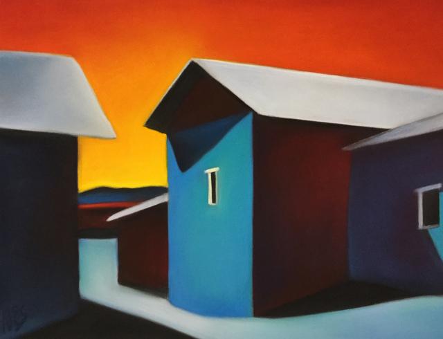 Margaret nes, 'Bright Ojo Walls 18-16', 2018, Ventana Fine Art