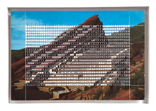 , 'Borrowed Landscapes Study No.53/Colorado, Red Rocks Amphitheatre,' 2017, k contemporary