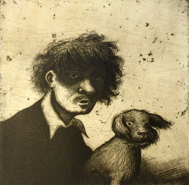 , 'Rembrandt's Dog II,' , Sarah Wiseman Gallery
