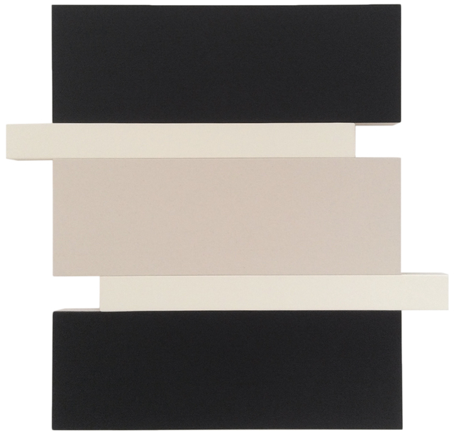 , 'Stack (Black/White/Canvas),' 2016, Peter Blake Gallery