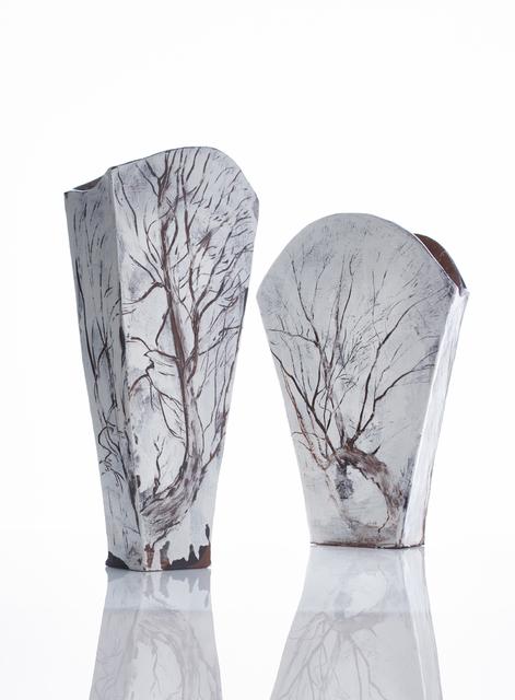 Claudia Clare (b.1962), 'Wootton Willows 1', 2018, Zuleika Gallery