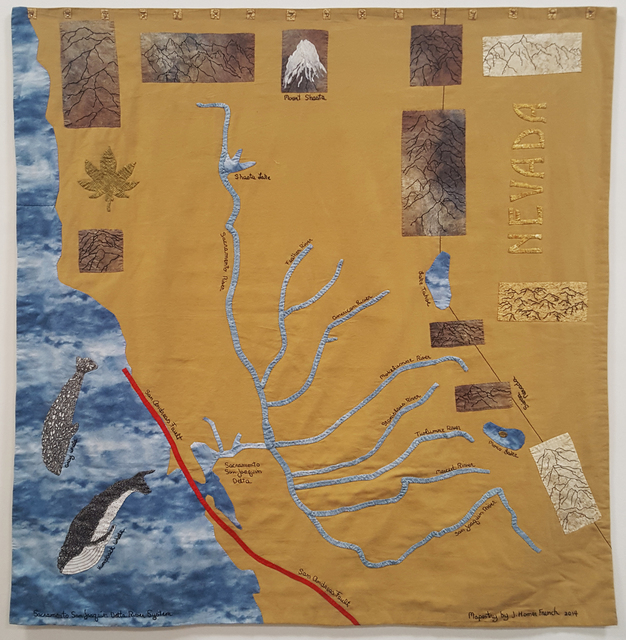 , 'Sacramento San Joaquin Delta River System,' 2014, Craig Krull Gallery