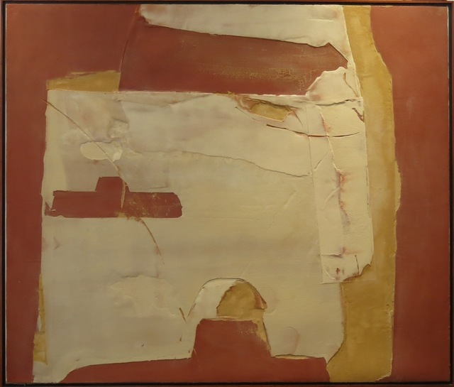 , 'White Form over Red and Yellow,' 2011, Beatriz Esguerra Art