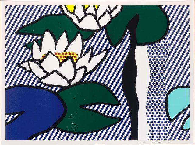 Roy Lichtenstein, 'Les Nymphéas (C. 280)', 1993, Doyle