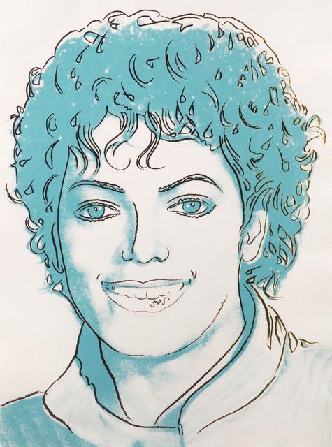 Andy Warhol, 'Michael Jackson', 1984, Julien's Auctions