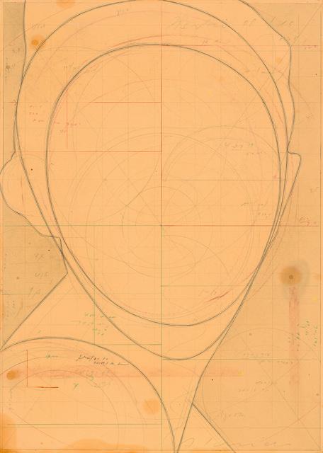 , 'Ohne Titel (Porträt),' 2008, Galerie Bob van Orsouw