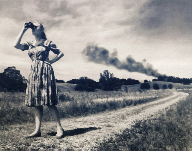 , 'Where There is Smoke,' 2012, Paraphé
