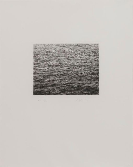 Vija Celmins, 'Drypoint - Ocean Surface (Second State)', 1985, Upsilon Gallery