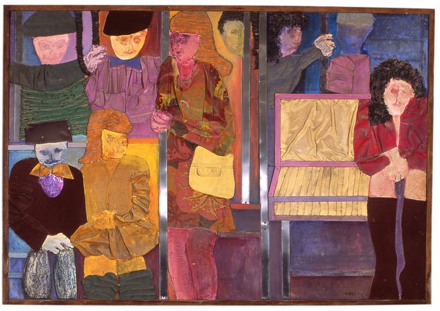 , 'The Bus,' 1975, Myrine Vlavianos Arte Contemporânea
