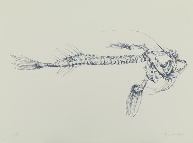 Bryan Kneale, 'Anglerfish', 2007, Print, Lithograph, Pangolin London