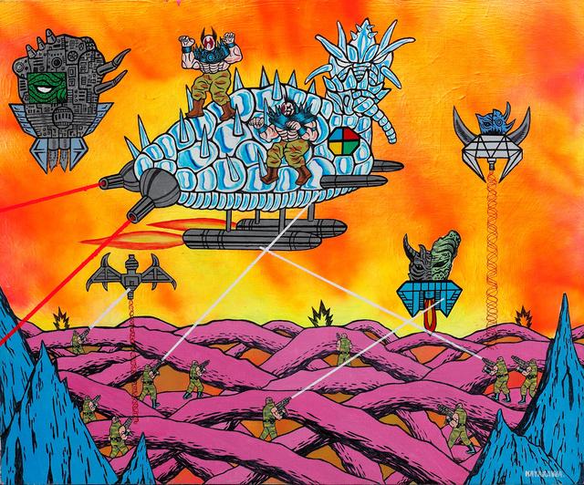Motohiro Hayakawa, 'Space Battles Series 1 - #4', 2010-2016, Coleccion SOLO