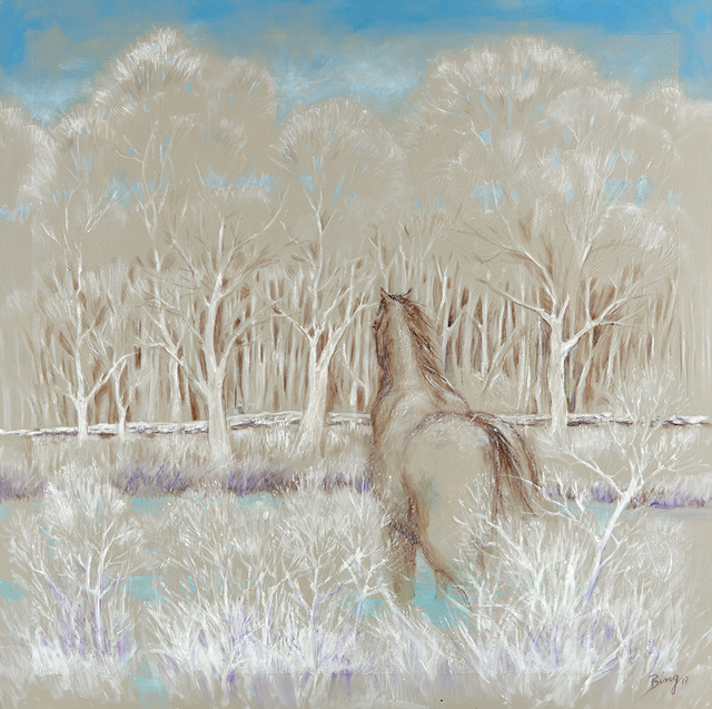 , 'Longing/Winter,' 2017, Walter Wickiser Gallery