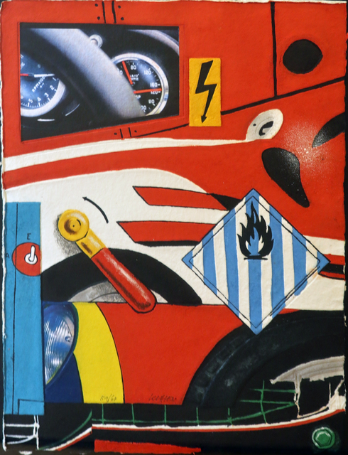 , 'Ferrari,' 2015, Galerie Christiane Vallé