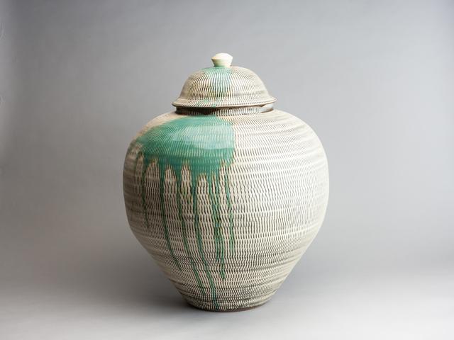 , 'Large Jar with Tobikanna (Blade Skip) Design and Splashed Glazing,' n/a, Pucker Gallery