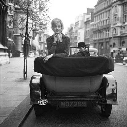 Georges Dambier, 'Lucinda, Voiture, Londres', 1959, Photography, Silver gelatin print, printed later., Michael Hoppen Gallery