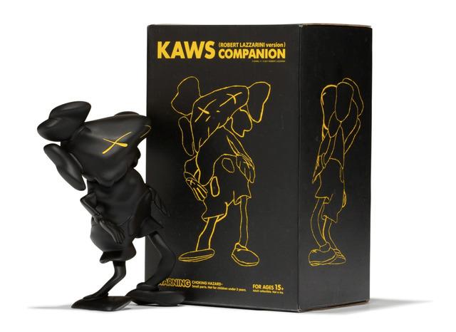 KAWS, 'Companion (Black)', 2010, Sculpture, Painted Cast Vinyl, End to End Gallery