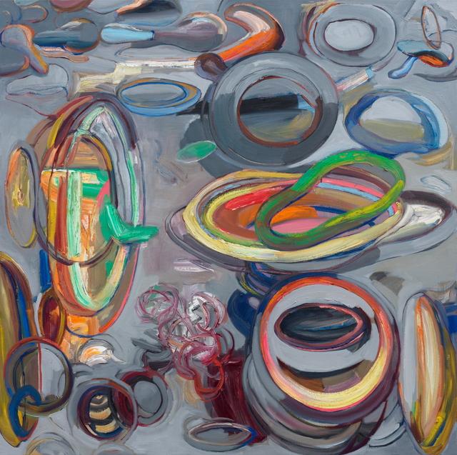 , 'untitled (Wheels in a Wheel),' 2016-17, Gallery NAGA