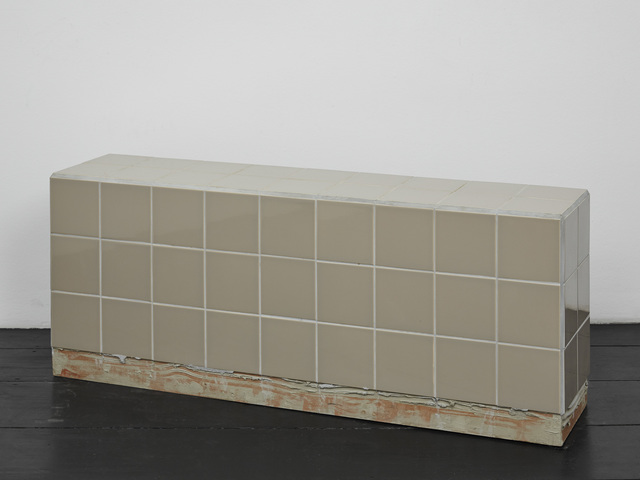 , 'Reading bench (brown),' 2016, Isabella Bortolozzi Galerie