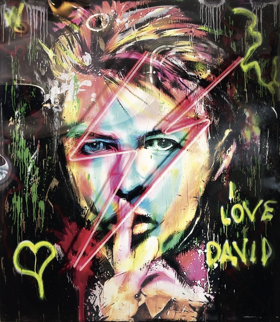, 'David Bowie,' , SimonBart Gallery