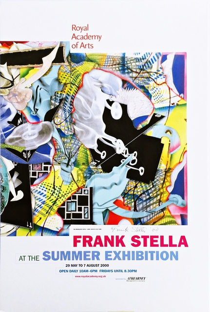 , 'Frank Stella at the Summer Exhibition, Royal Academy of Arts  (Hand Signed),' 2000, Alpha 137 Gallery