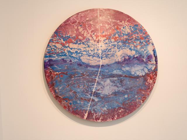 , 'Hydronim #15 - Titicaca lake (Bolivia 44%, Perú 56%),' 2019, NG Art Gallery