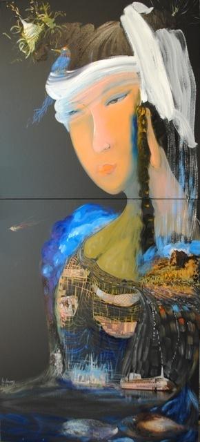 , 'Omniscient Mother Earth (丰盛知母),' 2014, Visionairs Gallery