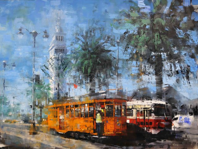 Mark Lague, 'Two Trolleys', 2019, SmithKlein Gallery