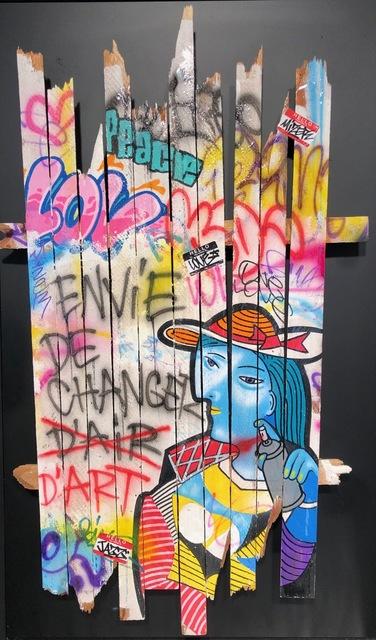 Onemizer, 'Envie De Changer d'Art', 2019, Galerie Montmartre