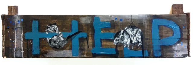 , 'Help,' 2018, NextStreet Gallery