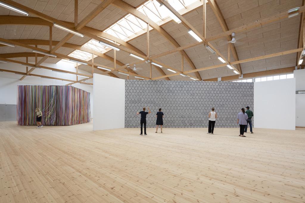 Jacob Dahlgren, Art is Life. Installation view at Copenhagen Contemporary 2019. Photo: Anders Sune Berg
