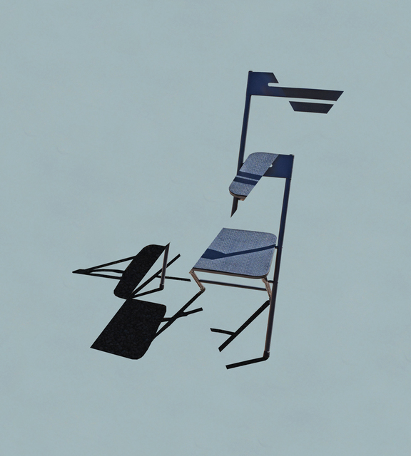 , 'Deconstructing My Folding Chair,' 2016, Bruno David Gallery