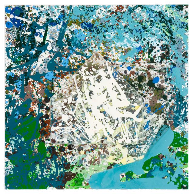 Jennifer Losch Bartlett, 'Untitled', 1999-2000, Painting, Enamel on metal, Hindman