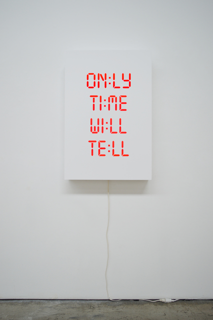 , 'Only Time Will Tell,' 2018, Olga Korper Gallery