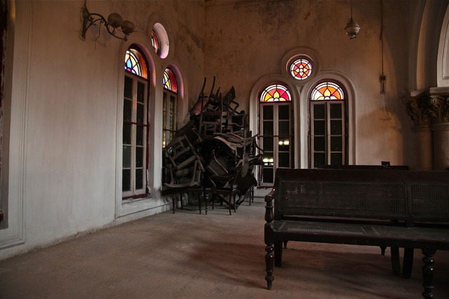 Prabir Purkayastha, ''Time Passages', Maghen David Synagogue, North Calcutta,' 2011, Sundaram Tagore Gallery